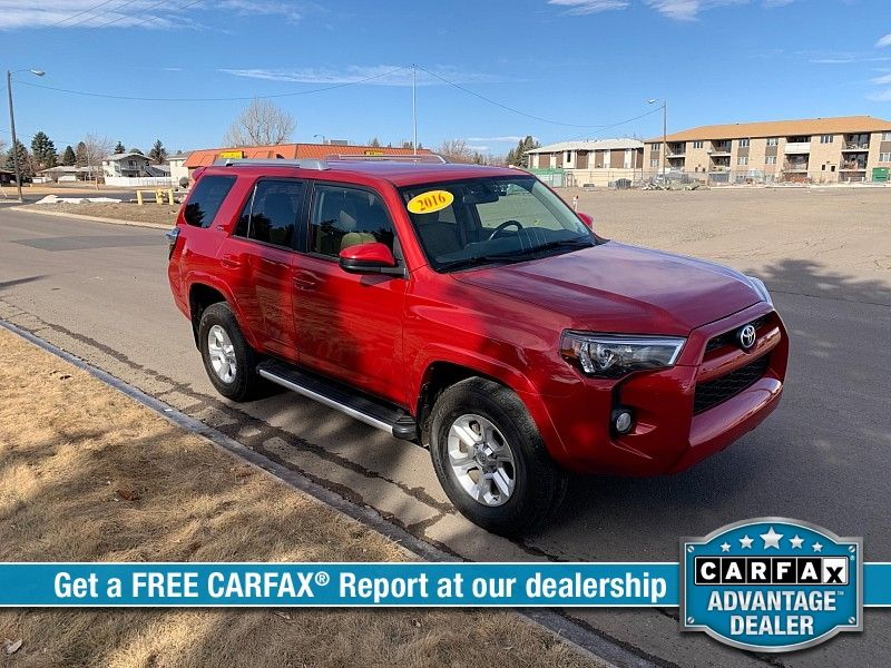 2016 Toyota 4Runner 4d SUV 4WD SR5  city MT  Bleskin Motor Company   in Great Falls, MT