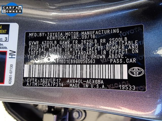 2016 Toyota Avalon Hybrid XLE Premium Madison, NC 54