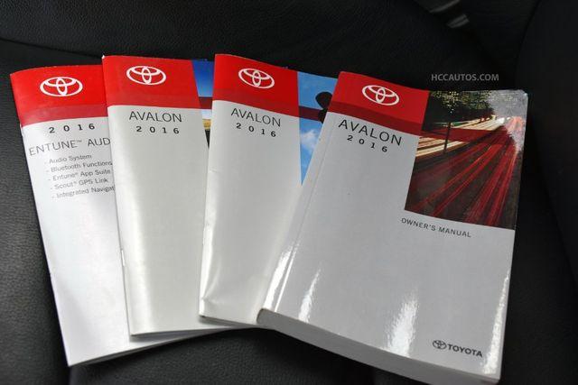 2016 Toyota Avalon XLE Premium Waterbury, Connecticut 34