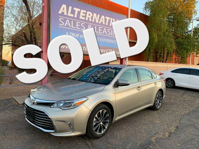 2016 Toyota Avalon XLE 5 YEAR/60,000 MILE FACTORY POWERTRAIN WARRANTY Mesa, Arizona