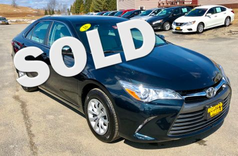 2016 Toyota Camry LE in Derby, Vermont
