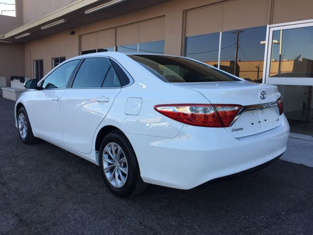 2016 Toyota Camry LE 5 YEAR/60,000 MILE FACTORY POWERTRAIN WARRANTY Mesa, Arizona 2