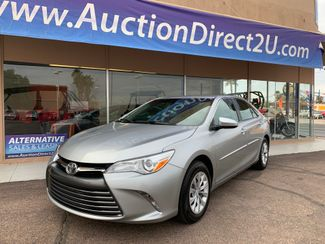 2016 Toyota Camry LE 5 YEAR/60,000 FACTORY POWERTRAIN WARRANTY Mesa, Arizona 1