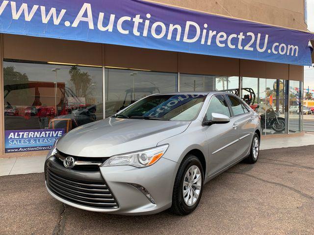 2016 Toyota Camry LE 5 YEAR/60,000 FACTORY POWERTRAIN WARRANTY Mesa, Arizona 1