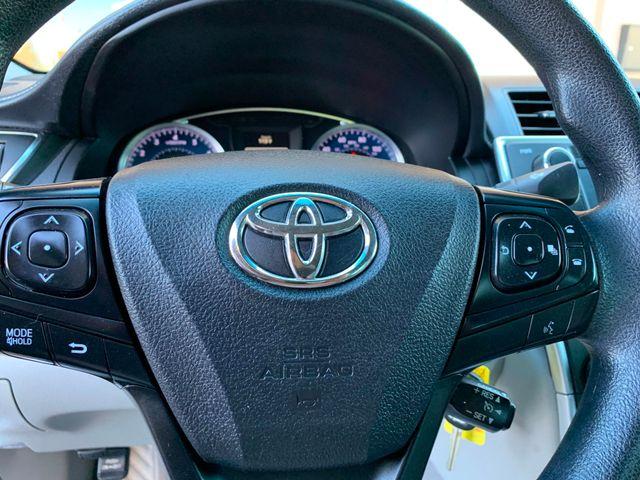 2016 Toyota Camry LE 5 YEAR/60,000 MILE FACTORY POWERTRAIN WARRANTY Mesa, Arizona 16