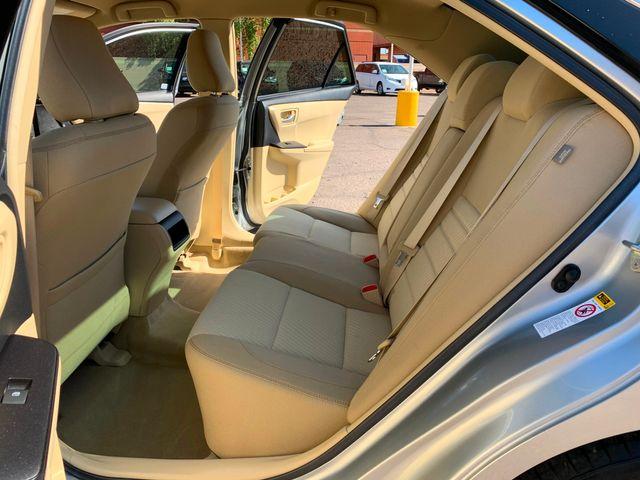 2016 Toyota Camry LE 5 YEAR/60,000 MILE FACTORY POWERTRAIN WARRANTY Mesa, Arizona 10