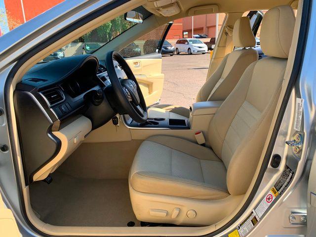 2016 Toyota Camry LE 5 YEAR/60,000 MILE FACTORY POWERTRAIN WARRANTY Mesa, Arizona 9