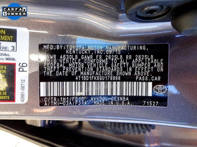 2016 Toyota Camry Hybrid LE Madison, NC 51