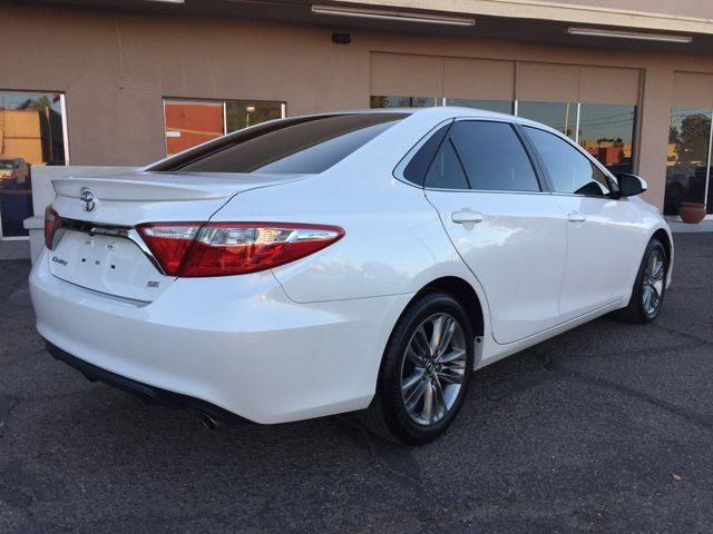 2016 Toyota Camry SE FULL MANUFACTURER WARRANTY Mesa, Arizona 4