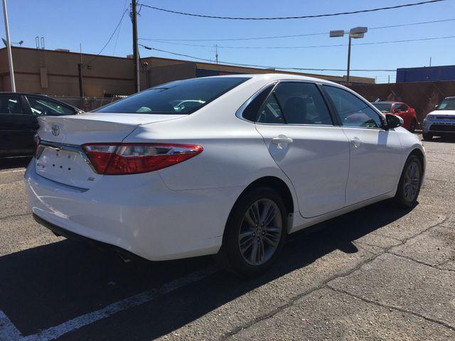 2016 Toyota Camry SE FULL MANUFACTURER WARRANTY Mesa, Arizona 4