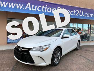 2016 Toyota Camry SE 5 YEAR/60,000 MILE FACTORY POWERTRAIN WARRANTY Mesa, Arizona