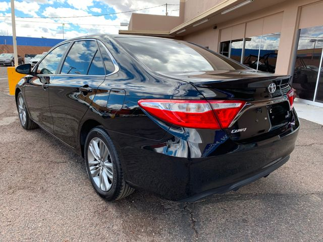 2016 Toyota Camry SE 5 YEAR/60,000 MILE NATIONAL POWERTRAIN WARRANTY Mesa, Arizona 2