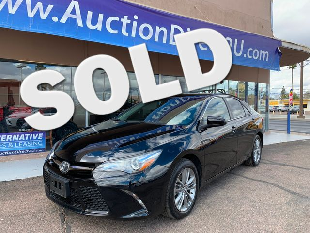 2016 Toyota Camry SE 5 YEAR/60,000 MILE NATIONAL POWERTRAIN WARRANTY Mesa, Arizona