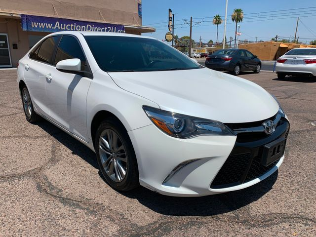 2016 Toyota Camry SE 5 YEAR/60,000 MILE FACTORY POWERTRAIN WARRANTY Mesa, Arizona 6