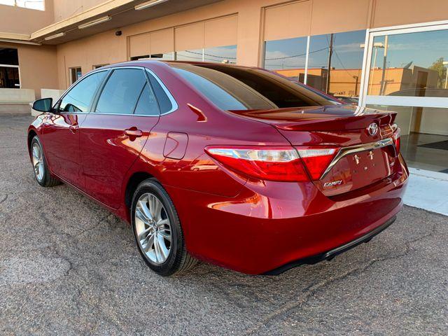 2016 Toyota Camry SE 5 YEAR/60,000 MILE FACTORY POWERTRAIN WARRANTY Mesa, Arizona 2