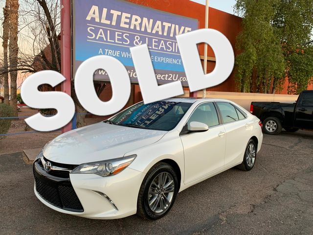 2016 Toyota Camry SE 5 YEAR/60,000 MILE FACTORY POWERTRAIN WARRANTY Mesa, Arizona