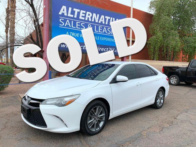 2016 Toyota Camry SE 3 MONTH/3,000 MILE NATIONAL POWERTRAIN WARRANTY Mesa, Arizona