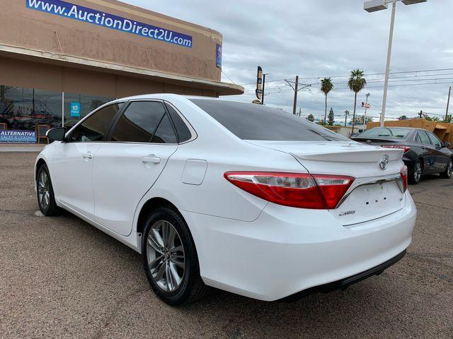 2016 Toyota Camry SE 3 MONTH/3,000 MILE NATIONAL POWERTRAIN WARRANTY Mesa, Arizona 2