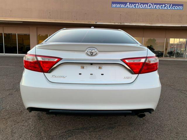 2016 Toyota Camry XSE 5 YEAR/60,000 MILE FACTORY POWERTRAIN WARRANTY Mesa, Arizona 3