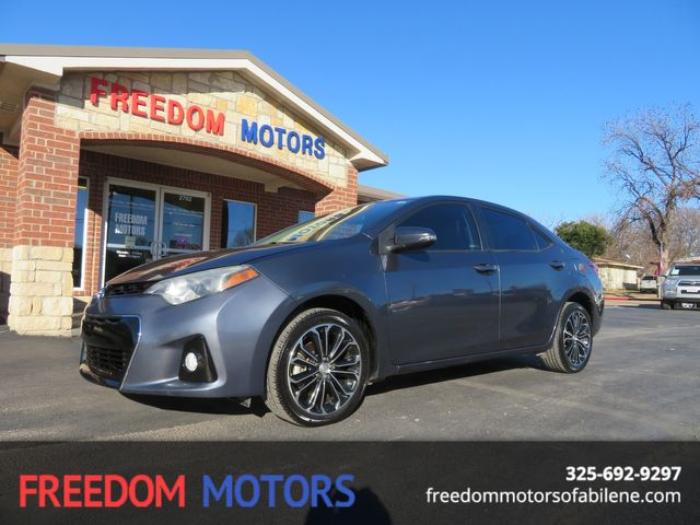 2016 Toyota Corolla S Plus | Abilene, Texas | Freedom Motors  in Abilene,Tx Texas