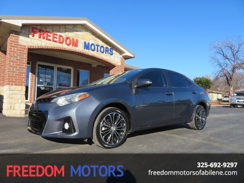 2016 Toyota Corolla S Plus | Abilene, Texas | Freedom Motors  in Abilene Texas