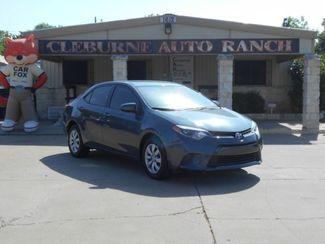 2016 Toyota Corolla LE CVT Cleburne, Texas 1