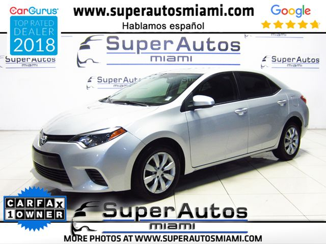 2016 Toyota Corolla LE with Low Mileage