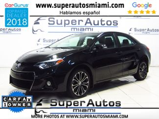 2016 Toyota Corolla S Plus with Navigation System and Sunroof in Doral FL, 33166