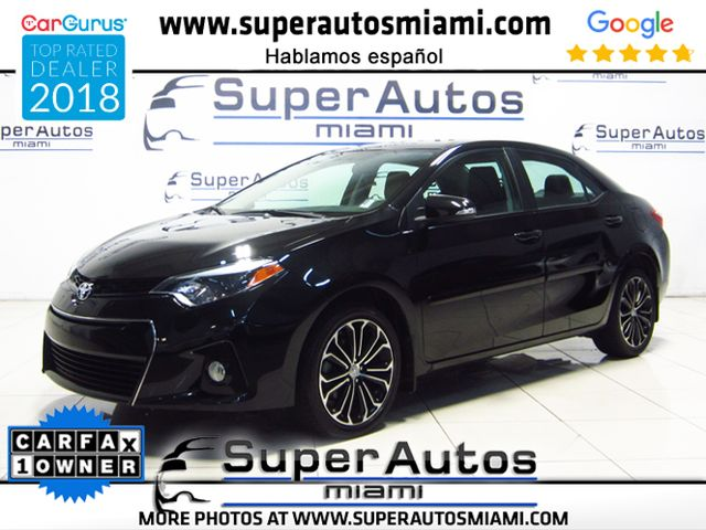 2016 Toyota Corolla S Plus with Navigation System and Sunroof