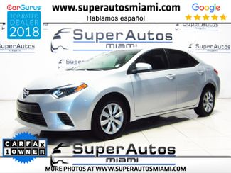 2016 Toyota Corolla LE with Low Mileage in Doral, FL 33166