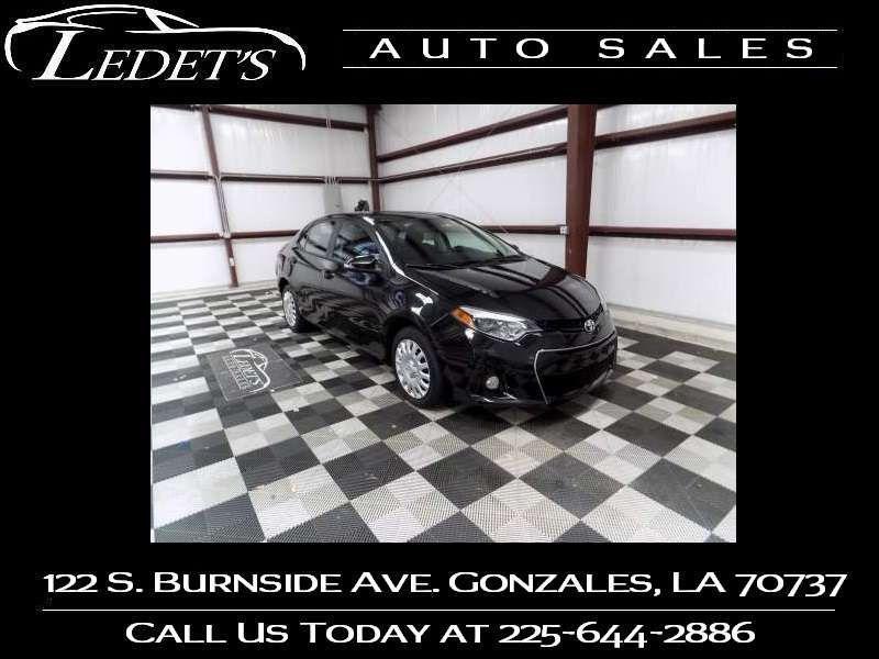 2016 Toyota Corolla S - Ledet's Auto Sales Gonzales_state_zip in Gonzales Louisiana