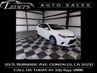 2016 Toyota Corolla LE - Ledet's Auto Sales Gonzales_state_zip in Gonzales