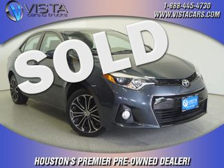 2016 Toyota Corolla S  city Texas  Vista Cars and Trucks  in Houston, Texas