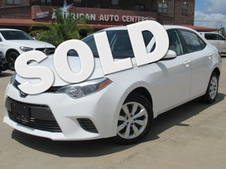 2016 Toyota Corolla LE | Houston, TX | American Auto Centers in Houston TX
