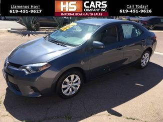 2016 Toyota Corolla LE Imperial Beach, California