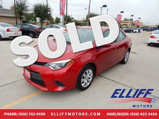2016 Toyota Corolla LE in Harlingen, TX 78550