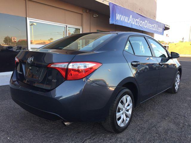 2016 Toyota Corolla LE FULL MANUFACTURER WARRANTY Mesa, Arizona 4
