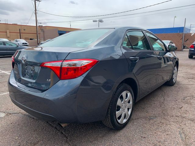 2016 Toyota Corolla LE 5 YEAR/60,000 MILE NATIONAL POWERTRAIN WARRANTY Mesa, Arizona 4