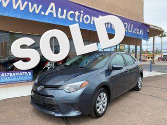 2016 Toyota Corolla LE 5 YEAR/60,000 MILE NATIONAL POWERTRAIN WARRANTY Mesa, Arizona