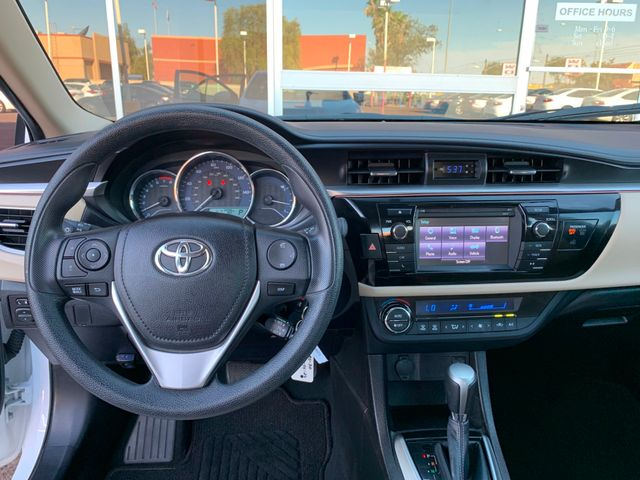 2016 Toyota Corolla LE 5 YEAR/60,000 MILE FACTORY POWERTRAIN WARRANTY Mesa, Arizona 14