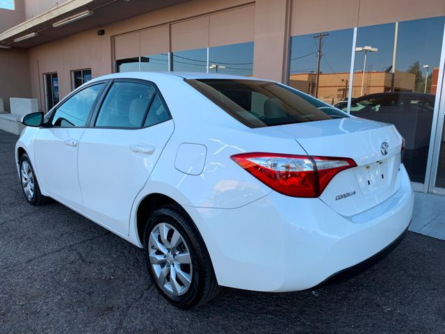 2016 Toyota Corolla LE 5 YEAR/60,000 MILE FACTORY POWERTRAIN WARRANTY Mesa, Arizona 2