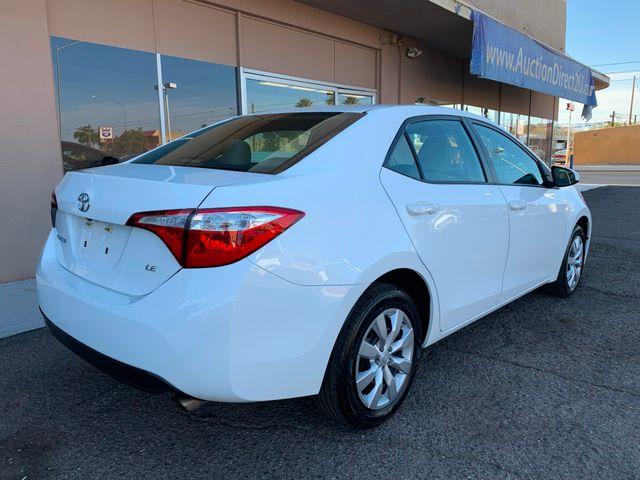 2016 Toyota Corolla LE 5 YEAR/60,000 MILE FACTORY POWERTRAIN WARRANTY Mesa, Arizona 4