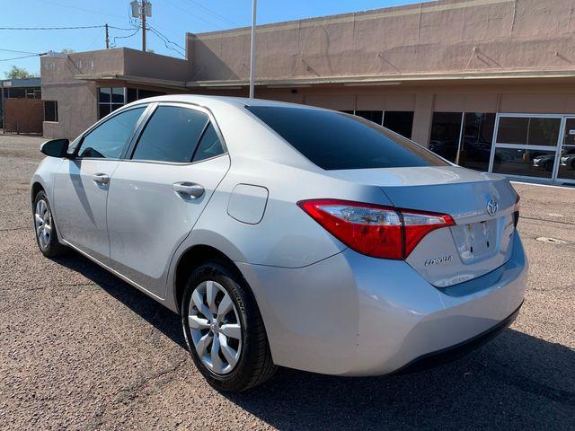 2016 Toyota Corolla LE  5 YEAR/60,000 MILE FACTORY POWERTRAIN WARRANTY Mesa, Arizona 2