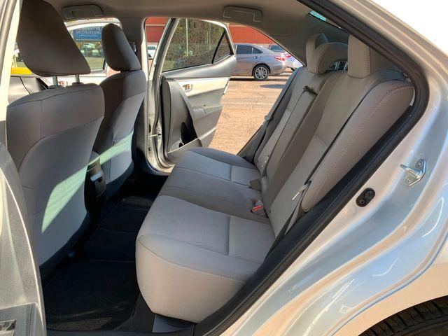 2016 Toyota Corolla LE  5 YEAR/60,000 MILE FACTORY POWERTRAIN WARRANTY Mesa, Arizona 10