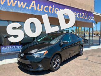 2016 Toyota Corolla LE Plus 5 YEAR/60,000 MILE FACTORY POWERTRAIN WARRANTY Mesa, Arizona