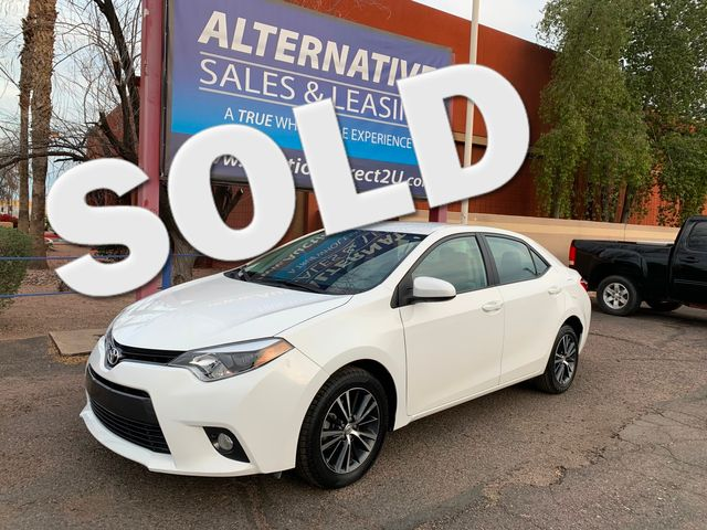 2016 Toyota Corolla LE Plus 5 YEAR/60,000 MILE NATIONAL POWERTRAIN WARRANTY Mesa, Arizona