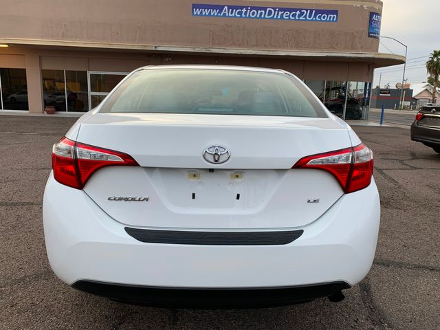 2016 Toyota Corolla LE Plus 5 YEAR/60,000 MILE NATIONAL POWERTRAIN WARRANTY Mesa, Arizona 3
