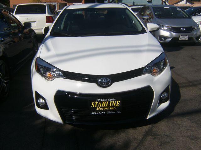 2016 Toyota Corolla S Los Angeles, CA 1