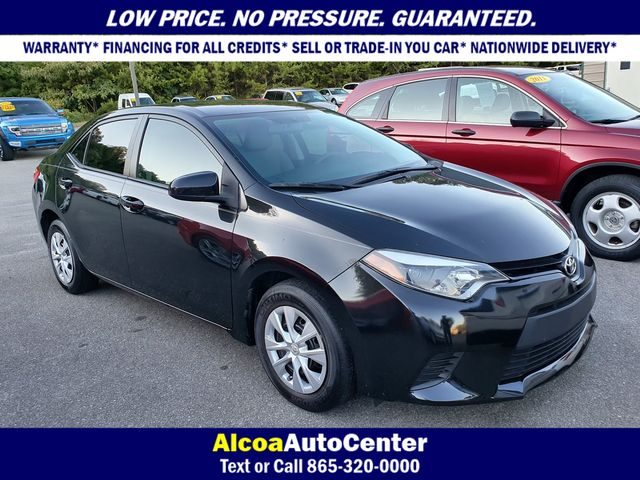 2016 Toyota Corolla L 6-Speed Manual