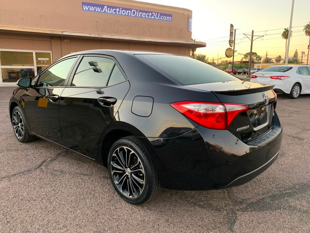 2016 Toyota Corolla S 5 YEAR/60,000 MILE NATIONAL POWERTRAIN WARRANTY Mesa, Arizona 2